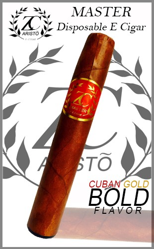 ZC Master Disposable E Cigar - Cuban Gold Bold
